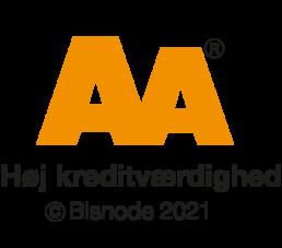 Anlægsgartnerfirmaet Dahlgaard har AA kreditværdighed