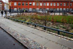 Grøn fortovshave Bryggervangen