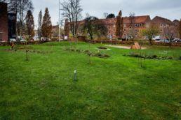 Herlevgårdsvej renovering af udenomsarealer