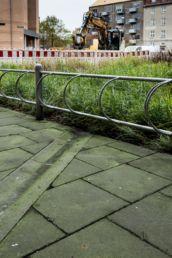 Udførelse forhave af Aldersrogade