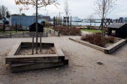 Udførelse af legeplads Islandsbrygge