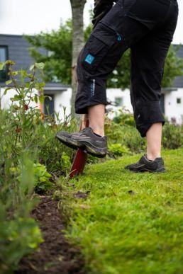 fod på skovl i have
